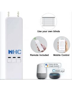 HC-SMART-HOME Smart Electric Blinds Engine converts your traditional blinds to a smart modern system