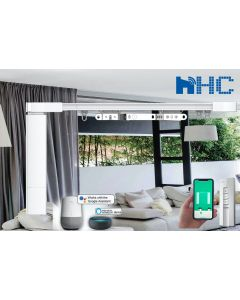 DIY Remote Control Curtain Tracks Electric Curtain Rods