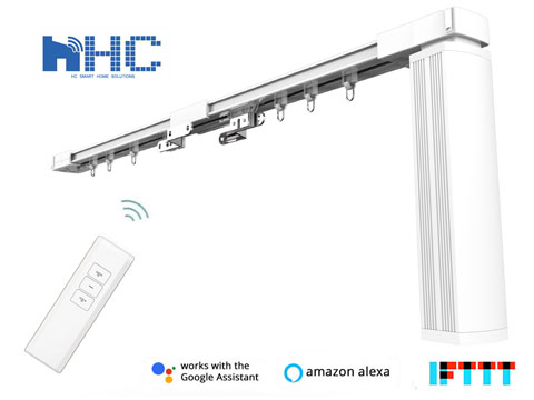 HC DIY Smart Electric Curtain Tracks, Alexa/Google Home/IFTTT