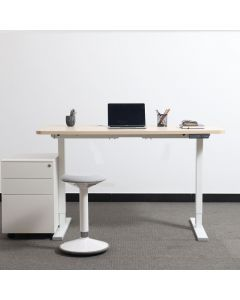 3-Step Standing Desk, Dual Motors Stand-Sit Desk