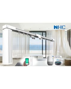 HC Smart Wifi Curtain Motor built-in integration with Amazon Alexa and Google Home IFTTT
