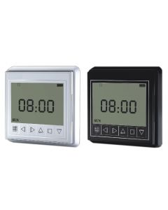 Grey/Black Wireless RF Timer, suitable for HC smart curtain tracks, electric window opener