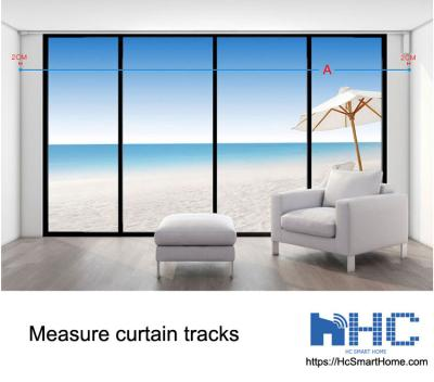 2 Easy Steps to Measure Electric Curtain Tracks